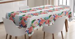 Daisy Wild Nature Garden Tablecloth