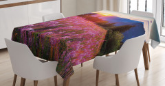 Spring Mountains Floral Tablecloth