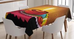 Religion Festive Tablecloth