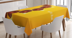 Religious Festive Candle Tablecloth