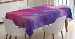 Magical Cloudy Sunset Tablecloth