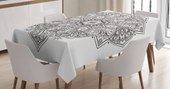 Eastern Psychedelic Tablecloth