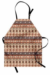 Kuş Figürlü Etnik Kilim Mutfak Önlüğü Otantik