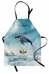 Uçak Taşıyan Yunus Mutfak Önlüğü Şık Fantastik