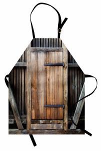 Antika Ahşap Kapı Mutfak Önlüğü Bina Mimari