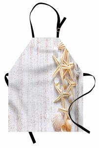 Deniz Yıldızı ve Kabuğu Mutfak Önlüğü Trend