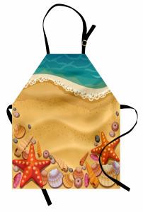 Kumsal ve Deniz Yıldızı Mutfak Önlüğü Çocuk