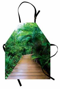 Orman Yolu ve Palmiye Mutfak Önlüğü