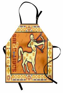 Astroloji Temalı Mutfak Önlüğü Burç Desenli