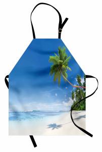Tropik Ada Mutfak Önlüğü Tropikal Ada