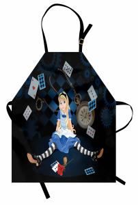 Masal Temalı Mutfak Önlüğü Alice Çocuklar İçin
