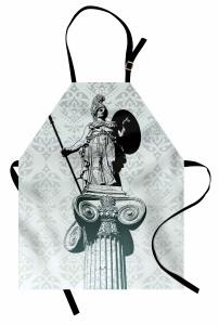 Sanat Eseri Temalı Mutfak Önlüğü Heykel Antik