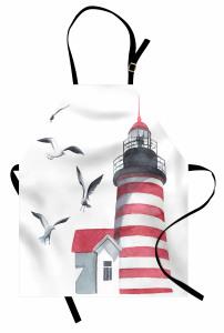 Deniz Feneri ve Kuş Mutfak Önlüğü Trend