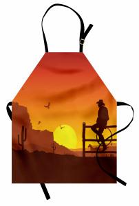 Yalnız Kovboy Mutfak Önlüğü Kovboy