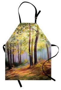 Orman ve Doğa Mutfak Önlüğü Orman Yeşil Doğa