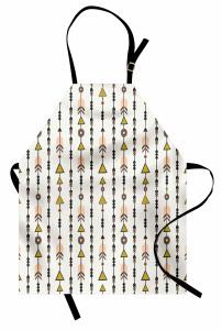 Minik Oklar Mutfak Önlüğü Şık Tasarım Modern Sanat