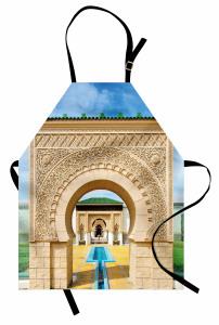 Kemerli Kapı Desenli Mutfak Önlüğü İslam Etkili