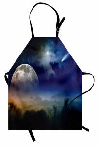 Kuyruklu Yıldız Mutfak Önlüğü Kuyruklu Yıldız Gökyüzü Mars