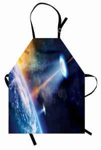 Kozmosun Sırları Mutfak Önlüğü Dünya Kozmos