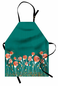 Bahar Tomurcukları Mutfak Önlüğü Rengarenk Bahar Tomurcuklar