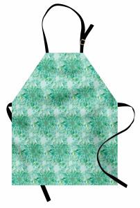 Huzur Veren Çiçekler Mutfak Önlüğü Çiçek Desenli Çeyizlik Tasarım