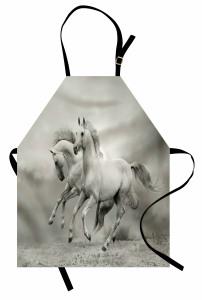 Özgür Atlar Mutfak Önlüğü Özgür Atlar Temalı