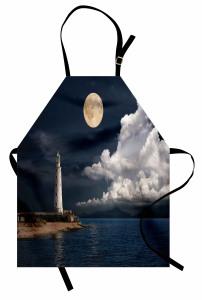 Romantik Ay Işığı Mutfak Önlüğü Romantik Ay Işığı