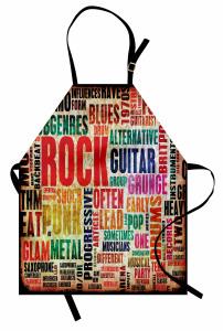 Rock Tutkusu Mutfak Önlüğü Nostaljik