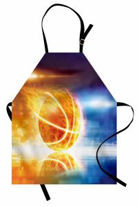 Alev Alan Basket Topu Mutfak Önlüğü Alev Alan Basket Topu