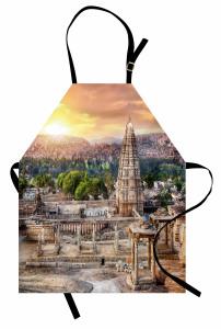 Tapınak ve Antik Kent Mutfak Önlüğü Gün Doğumu