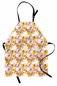 Bahar Coşkusu Mutfak Önlüğü Sarı Nergis Çiçekli Tasarım