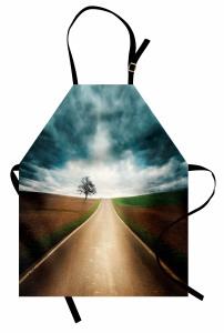 Yol Maceraları Uzun Yol Mutfak Önlüğü Gri