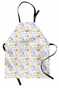 Rengarenk Kahkaha Mutfak Önlüğü Şık Tasarım Hahaha