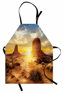 ABD Çölleri Mutfak Önlüğü Güneş Gökyüzü Bulut