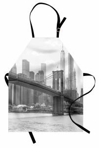 Nostaljik New York Mutfak Önlüğü Nostaljik New York Manzarası ABD