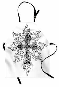 Haç ve Çiçek Alevler Mutfak Önlüğü Dini
