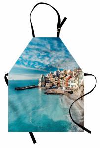 Deniz Gören Evler Mutfak Önlüğü Deniz Mavi