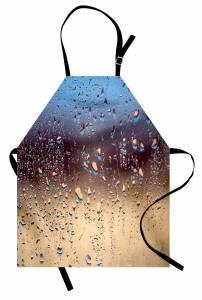 Buğulu Cam Mutfak Önlüğü Buğulu Cam Etkili Sonbahar