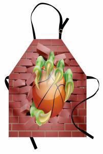 Basketbol Topu ve Pençe Mutfak Önlüğü Gençlere