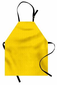 Çiçekli Duvar Kağıdı Mutfak Önlüğü Sarı Fon