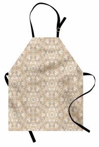 Kaleydoskop Desenli Mutfak Önlüğü Çiçek Dekoratif