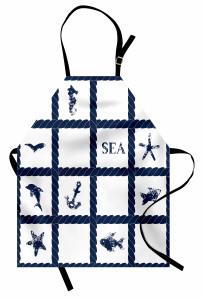 Denizcilik ve Halat Mutfak Önlüğü Lacivert