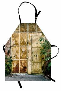 Metal Kapı ve Duvar Mutfak Önlüğü Şık Tasarım