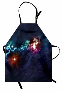 Bebek Galaksiler Mutfak Önlüğü Şık Dekoratif