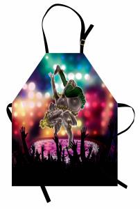 Break Dansçı Fil Desenli Mutfak Önlüğü Modern