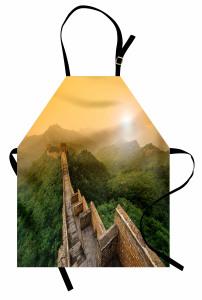 Çin Seddi ve Orman Mutfak Önlüğü Antik