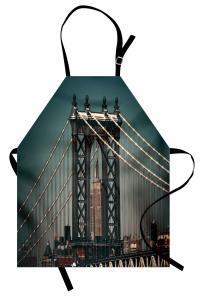 Manhattan Köprüsü Mutfak Önlüğü Mimari Etkili