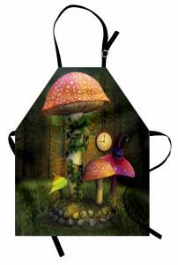 Dekoratif Harfli Desen Mutfak Önlüğü Fantastik Şık