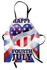 4 Temmuz Kutlu Olsun Mutfak Önlüğü 4 Temmuz Şık