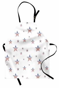 Eski Amerikan Bayrağı Mutfak Önlüğü Şık